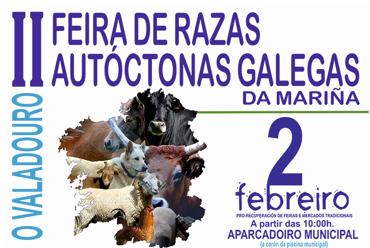 Feira de raza autóctonas galegas