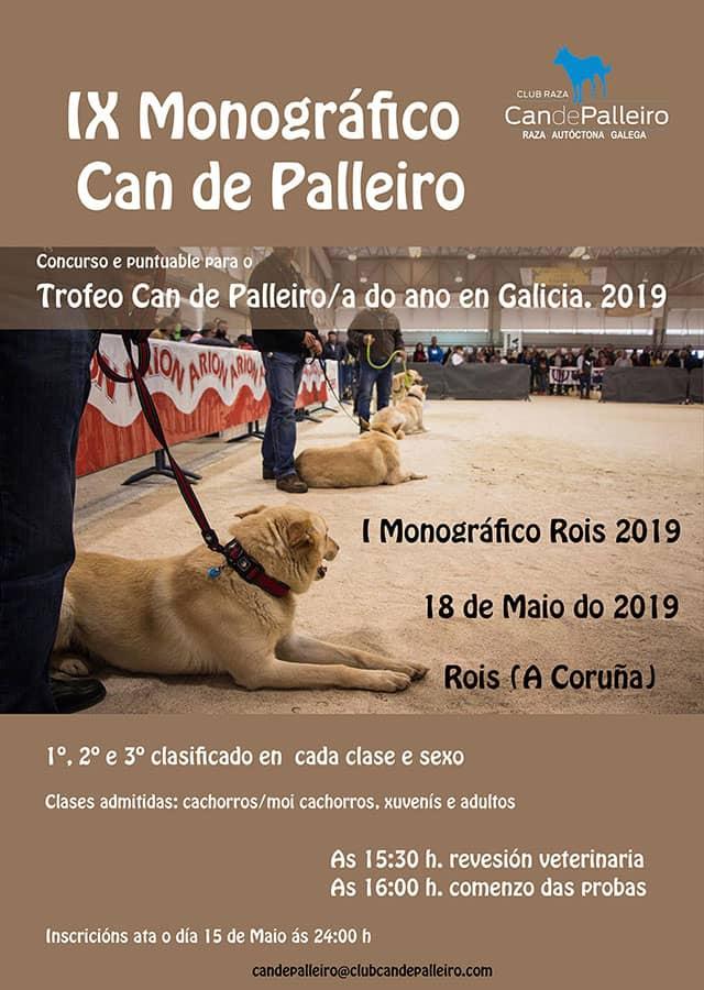IX Monografico Rois 2019 Can de palleiro