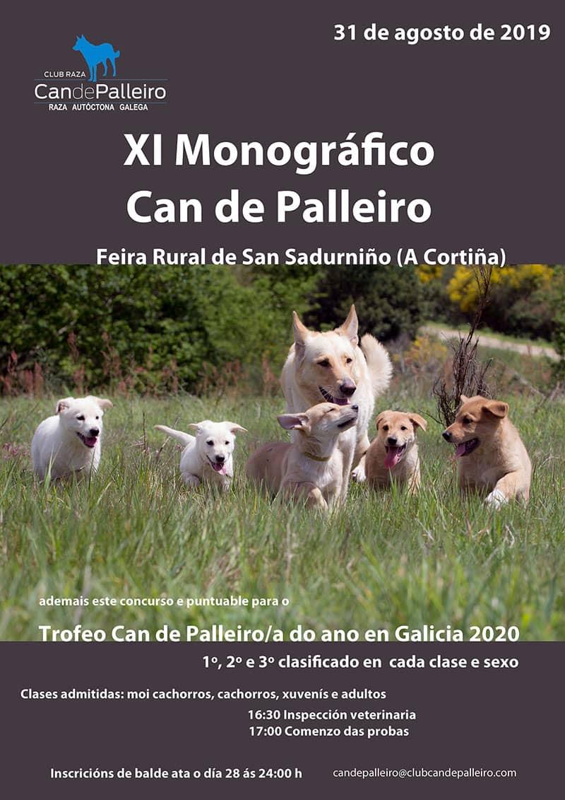 monografico can de palleiro-san sadurdino 2019 cartel