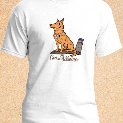 camiseta can peregrino xacobeo21