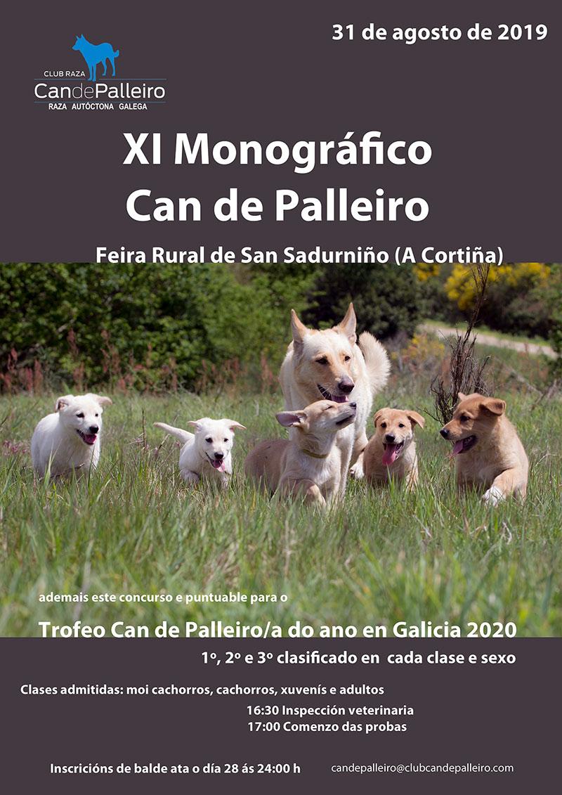 monografico can de palleiro san sadurdiño 2019-cartel